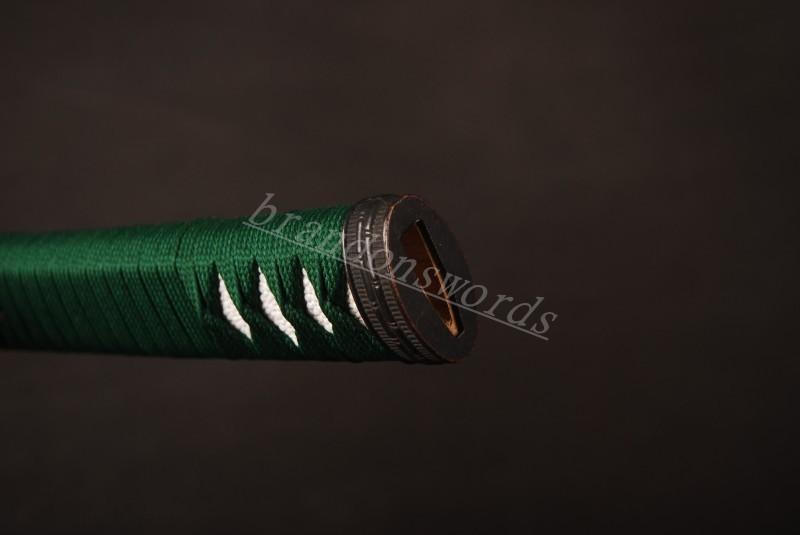 Samurai Sword Japanese Sword Katana Handle Battle Wrapped Tsuka H17